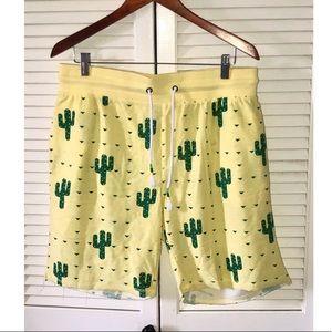 Top Drawer Cactus Shorts Medium